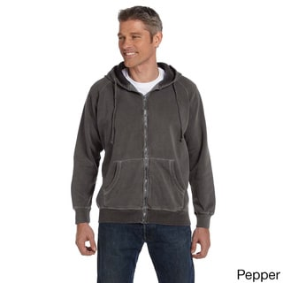 Men's 10-ounce Garment-dyed Full-zip Hoodie