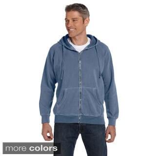 Men's 10-ounce Garment-dyed Full-zip Hoodie