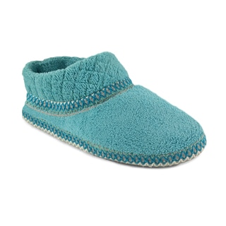 Muk Luks Women's 'Rita' Rain Micro Chenille Full Foot Slippers