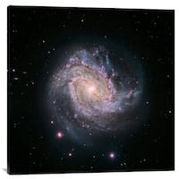 Global Gallery NASA 'M83 - Spiral Galaxy (Hubble-Magellan Composite)' Stretched Canvas