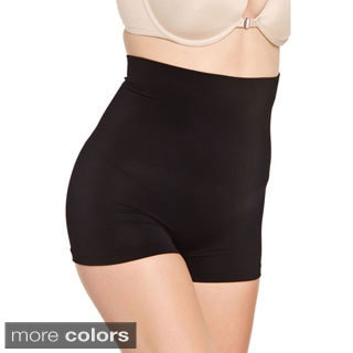 Hot Bottoms Women's Seamless High-waist Boxer Shaper