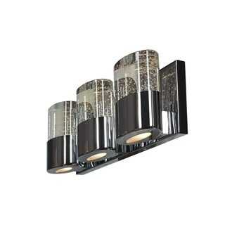 Access Lighting Bubbles Solid Crystal 3 Light Vanity