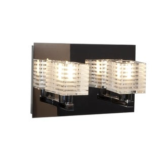 Access Lighting Evia 2 Light Crystal Vanity