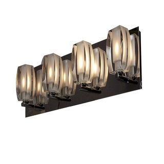 Access Lighting Evia 4-Light Crystal Vanity