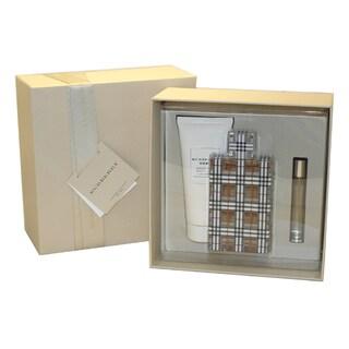 Burberry Brit Women's 3-piece Fragrance Set