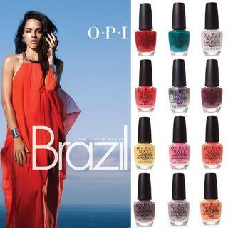 OPI Brazil Edition 36-piece Nail Polish Prepack
