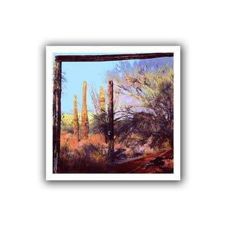 Dean Uhlinger 'Ghost Ranch' Unwrapped Canvas - Multi