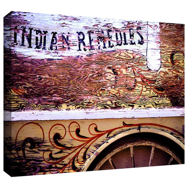 Dean Uhlinger 'Indian Remedies' Gallery-wrapped Canvas