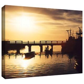 Dean Uhlinger 'Mazatlan Morning' Gallery-wrapped Canvas