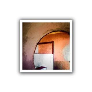 Dean Uhlinger 'Western Progress' Unwrapped Canvas - Multi