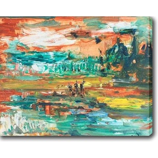 The Falls' Oil on Canvas Art