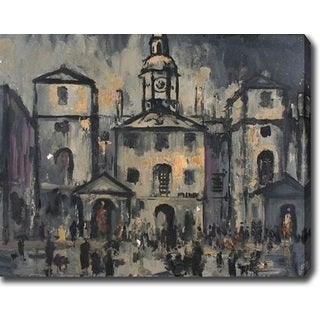 In The Town' Oil on Canvas Art