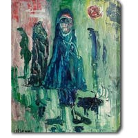 The Prayers' Oil on Canvas Art - Multi