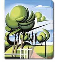 The Trees' Oil on Canvas Art - Multi