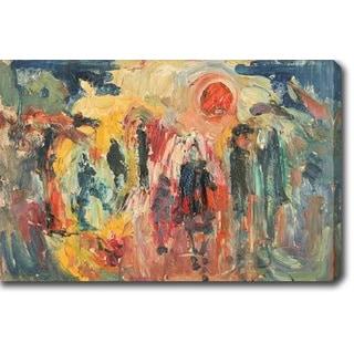 Abstract' Oil on Canvas Art