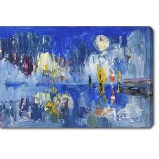 Blue' Oil on Canvas Art
