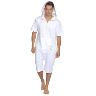ZOOOP iT UP Unisex White Terry Onesie