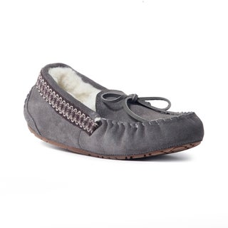 Muk Luks Women's 'Jane' Grey Suede Moccasin Flats (4 options available)