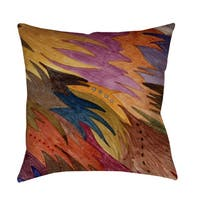 Autumn Flight Indoor/ Outdoor Throw Pillow