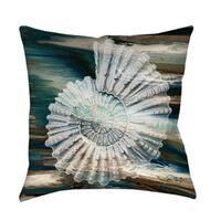 Coastal Span III Indoor/ Outdoor Throw Pillow