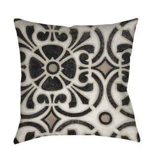 Thumbprintz Moroccan Symbol II Indoor/ Outdoor Throw Pillow