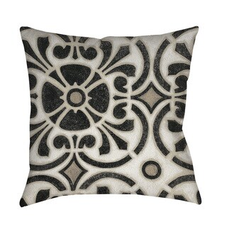 Moroccan Symbol II Indoor/ Outdoor Throw Pillow
