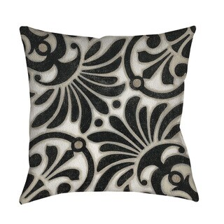 Moroccan Symbol III Indoor/ Outdoor Throw Pillow