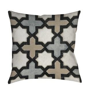 Thumbprintz Moroccan Symbol I Indoor/ Outdoor Throw Pillow