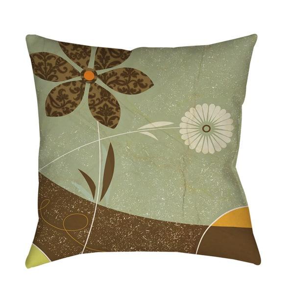 Graphic Garden Sadie Indoor Outdoor Throw Pillow Overstock 9330615