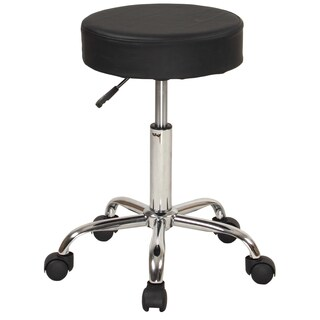 Sierra Comfort Adjustable Stool with Wheels