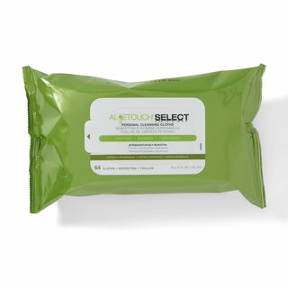 Aloetouch Select Premium Spunlace 64-count Scented Personal Cleansing Cloths (Pack of 9)