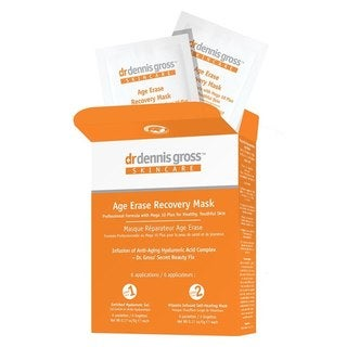 Dr. Dennis Gross Skincare Age Erase Recovery Mask (6 Count)