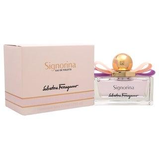 Salvatore Ferragamo Signorina Women's 1.7-ounce Eau de Toilette Spray