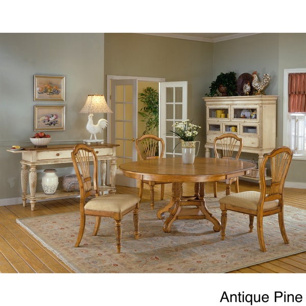 Cottage Dining Room Sets: Shop Wilshire Cottage Style 5-piece Round Dining Set