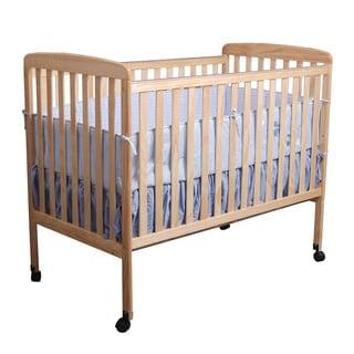 Natural Wood Baby Crib