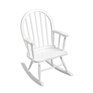 Gift Mark Windsor Home Children's White Rocking Chair