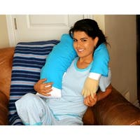 Boyfriend Microbead Pillow - Intimate Romantic Bedroom Companion or Partner - Cuddly Form Body Pillow with Benefits