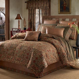 Croscill Yosemite Earth Tone 4 Piece Comforter Set Free