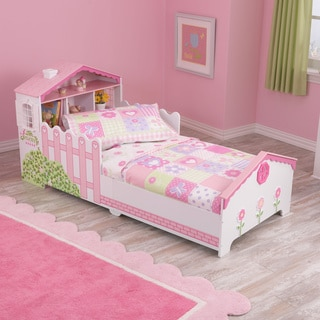 Dollhouse Cottage 4-piece Toddler Bedding Set