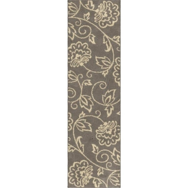 Shop Carolina Weavers Eden Collection Andy Grey Runner 2