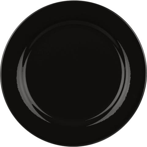 Waechtersbach Fun Factory Black Salad Plates (Set of 4)