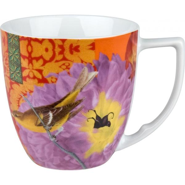Waechtersbach Floral Impressions Pink Peony Mugs (Set of 4)