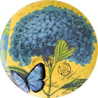 Waechtersbach Floral Impressions Blue Hydrangea Plates (Set of 4)