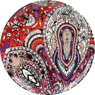 Waechtersbach Urbana Chili Paisley Accent Plates (Set of 4)