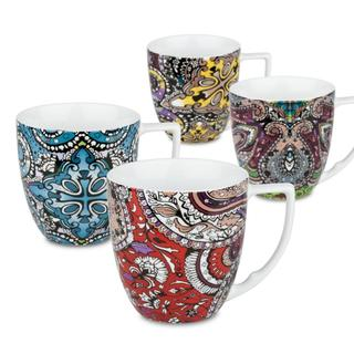 Waechtersbach 'Accents' Urbana Paisley Mugs (Set of 4)