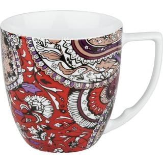 Waechtersbach Accents Urbana Paisley Chili Mugs (Set of 4)