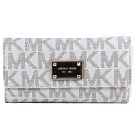 Michael Kors Jet Set Signature Checkbook Wallet