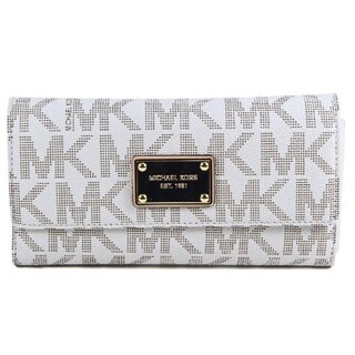 Michael Kors Jet Set Signature Checkbook Wallet (2 options available)