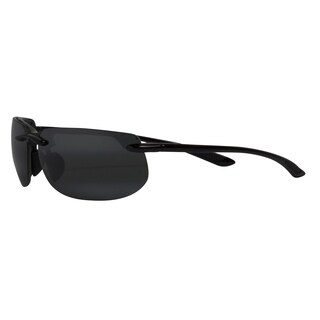 Maui Jim Men's 'Banyans' Black Polarized Sport Sunglasses