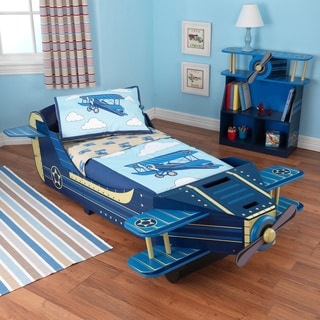 Airplane 4-piece Toddler Bedding Set